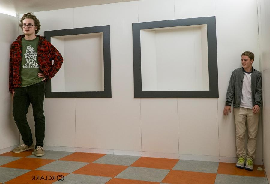 Ames Room Photography