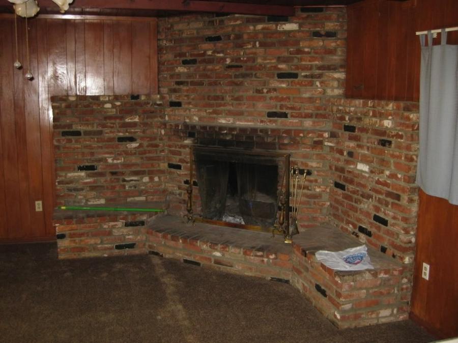 Old Brick Fireplace Photos