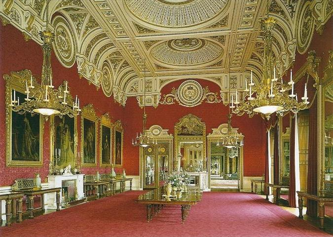 Photos Of The Interior Of Buckingham Palace