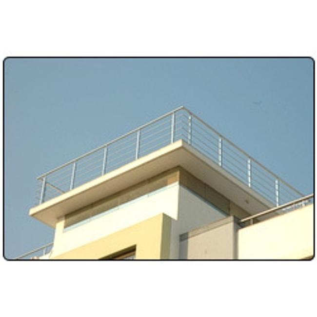 Balcony grill design photos india for Stainless steel balcony grill design