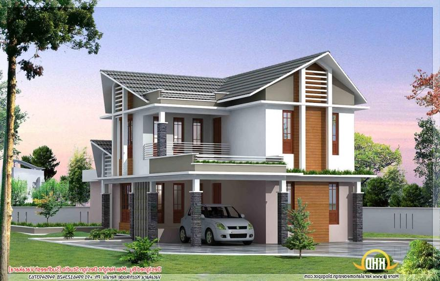 Photos of most beautiful houses in india for Indian home exterior designs gallery