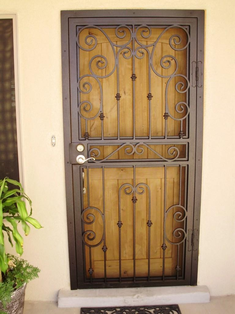 Steel door for homes photos