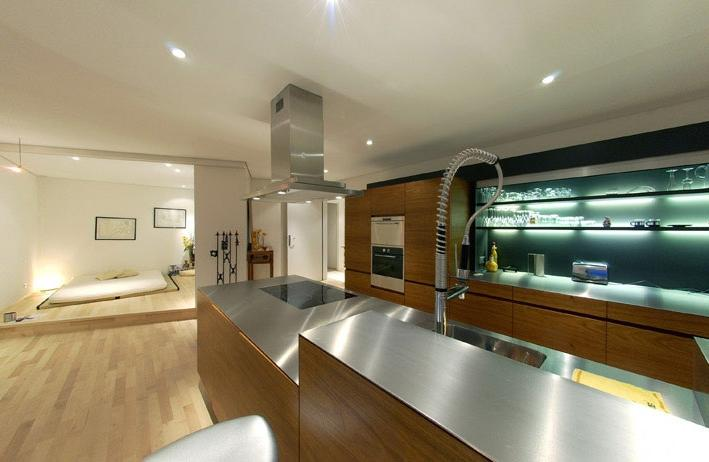 contemporary-kitchen-ceiling