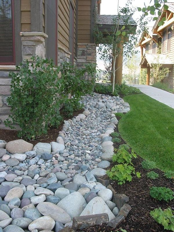 Garden Dry River Bed Photos