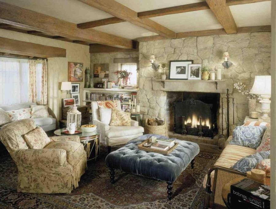 cottage style fireplace photos