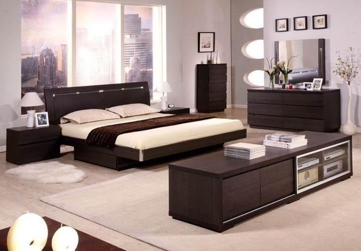 photo de decoration de chambre a coucher. Black Bedroom Furniture Sets. Home Design Ideas