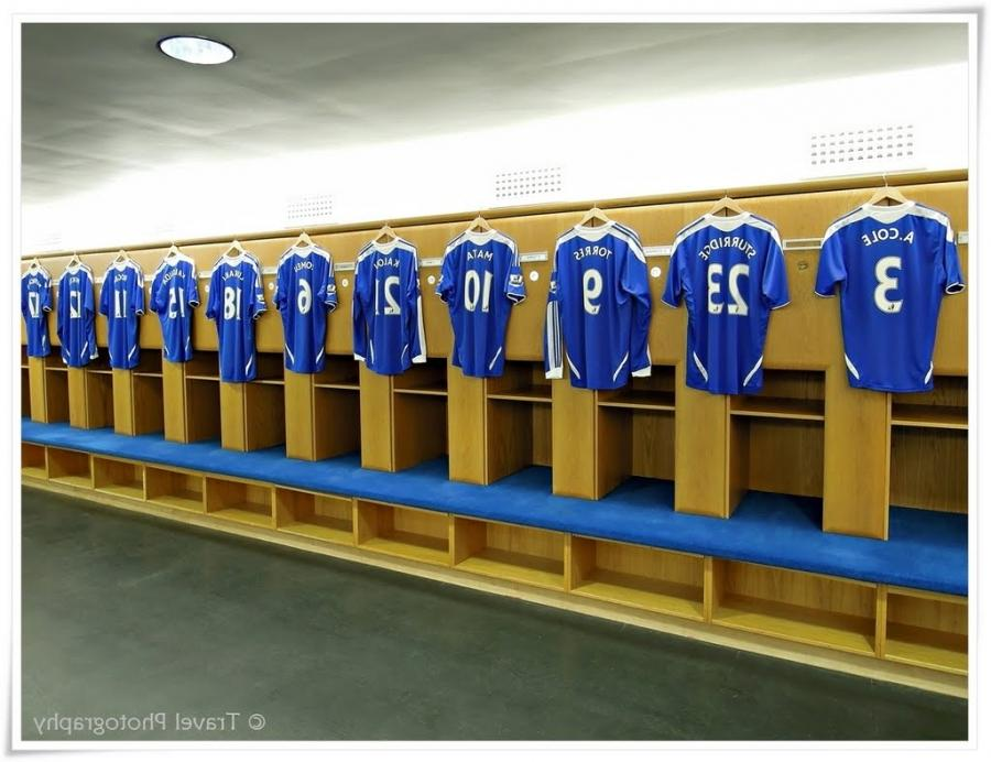 Changing Room - Chelsea Football Club