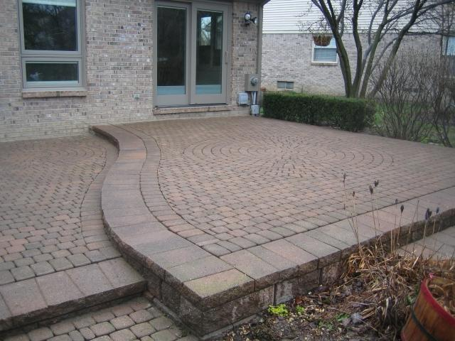 Interlock brick pavers photos