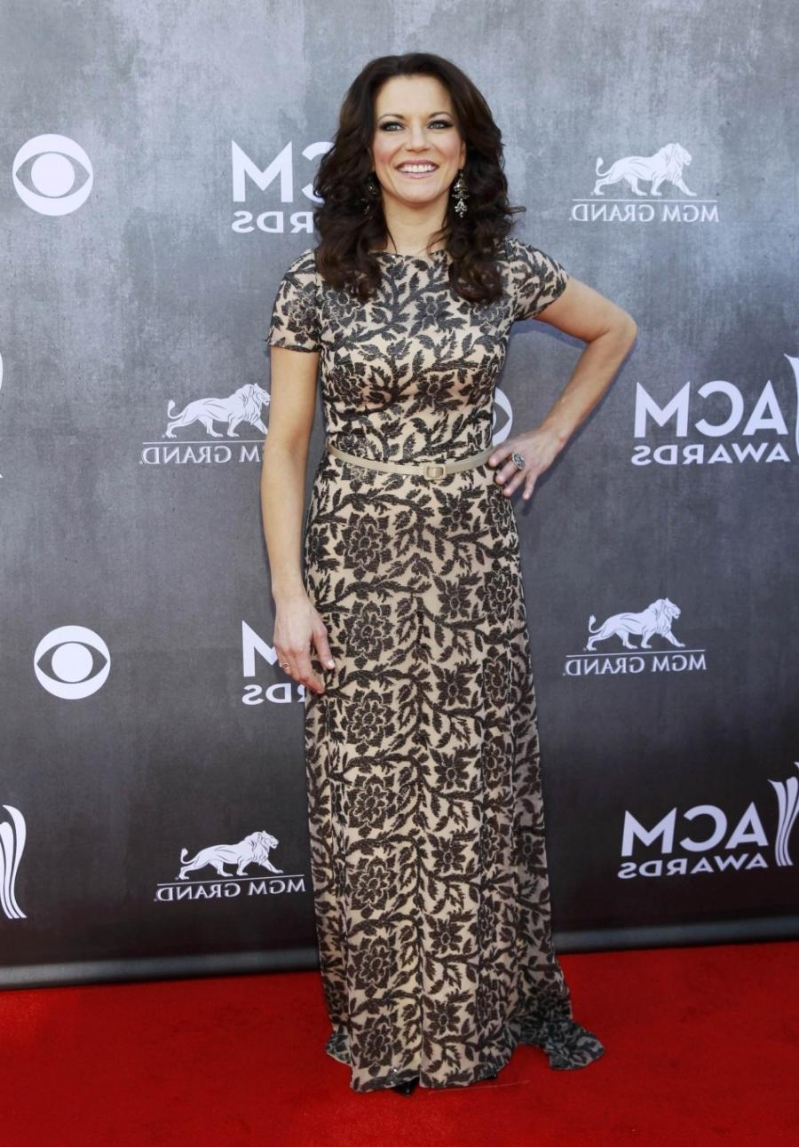 Martina McBride arrives at the 49th Annual Academy of Country...