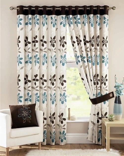 These lovely curtains feature a great balance of rich colour and...