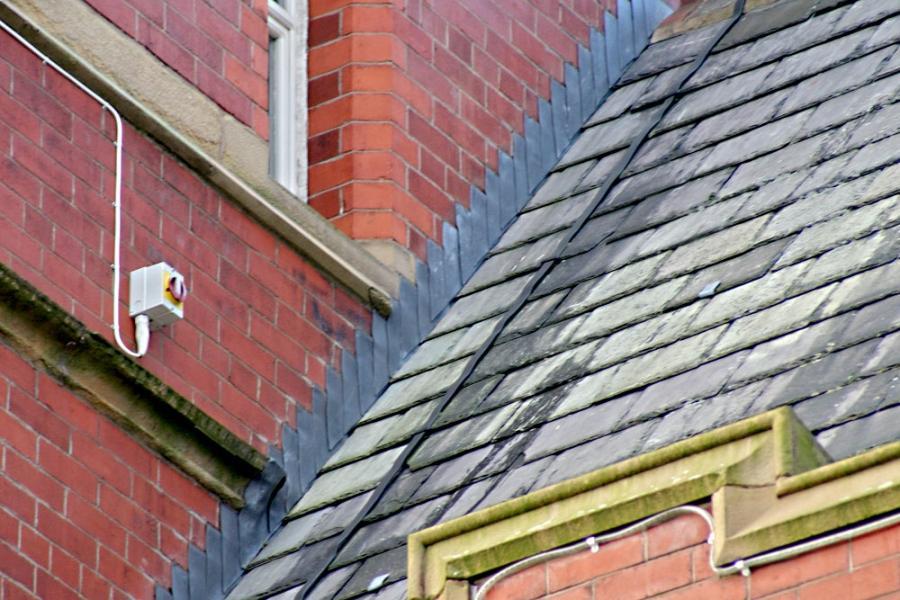 Lead Roof Flashing Photo