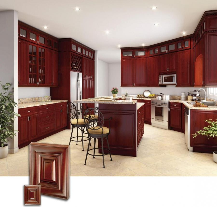 Cherry Wood Kitchen Cabinets Photos: Photos Of Kitchens With Cherry Wood Cabinets