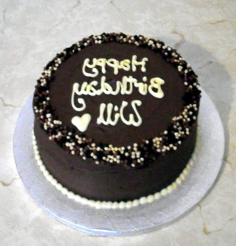 Chocolate Sprinkles Cake Decoration : Chocolate cake decoration photos