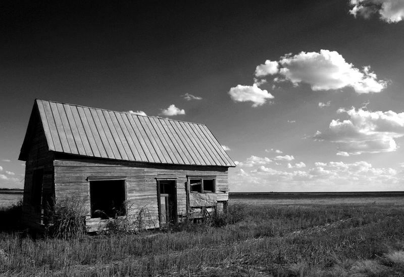 Black And White Photos Of Abandoned Houses