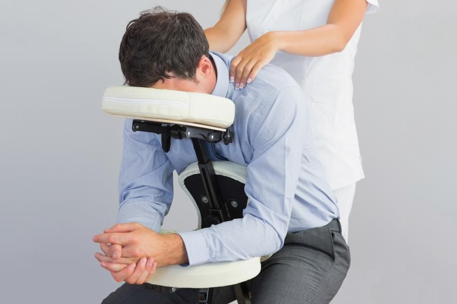 Photos of chair massage for Chair massage dc