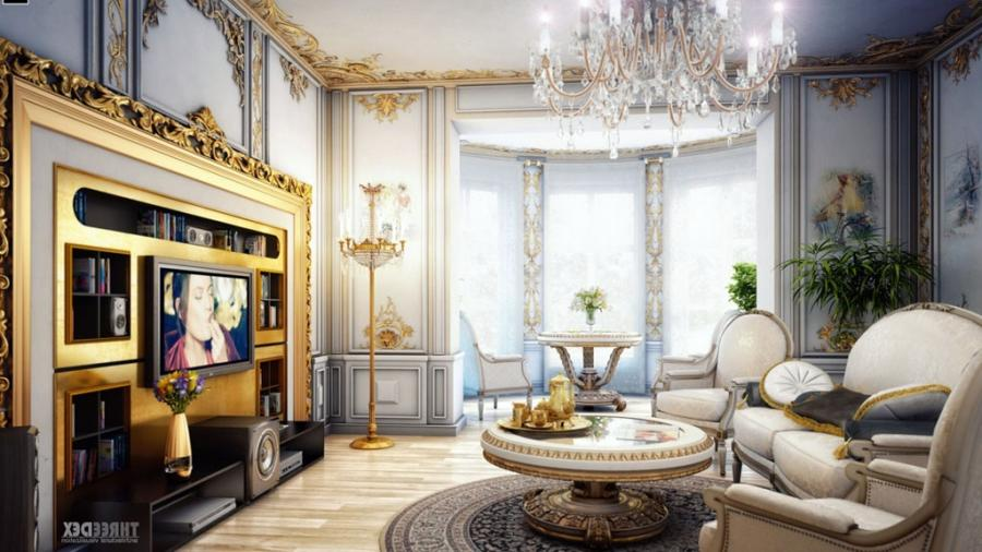 Fresh Extravagant Victorian Living Room Decorating With Dazzling...