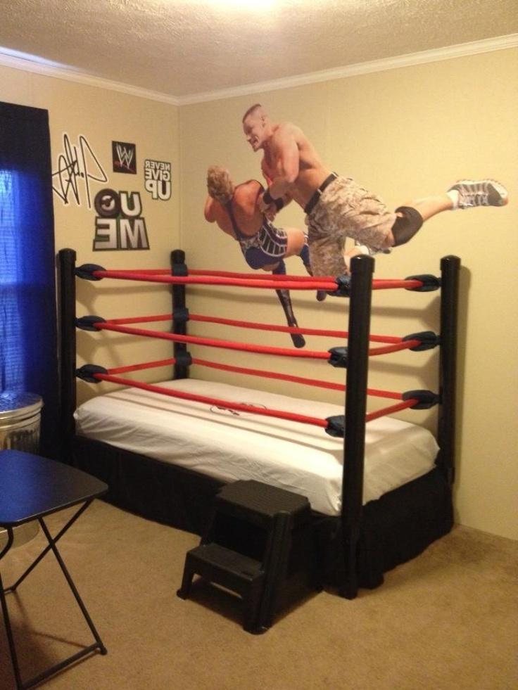 Wwe Bedroom Decor: Wrestling In Bed Photos