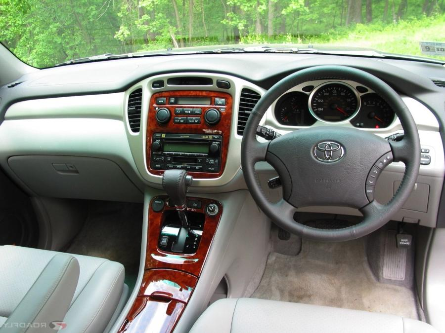 2007 toyota highlander interior photos. Black Bedroom Furniture Sets. Home Design Ideas
