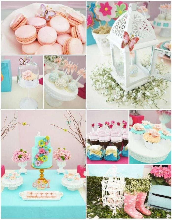 butterfly garden party with lots of cute ideas via karau party