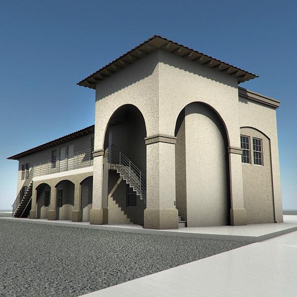 Stucco Building Photos