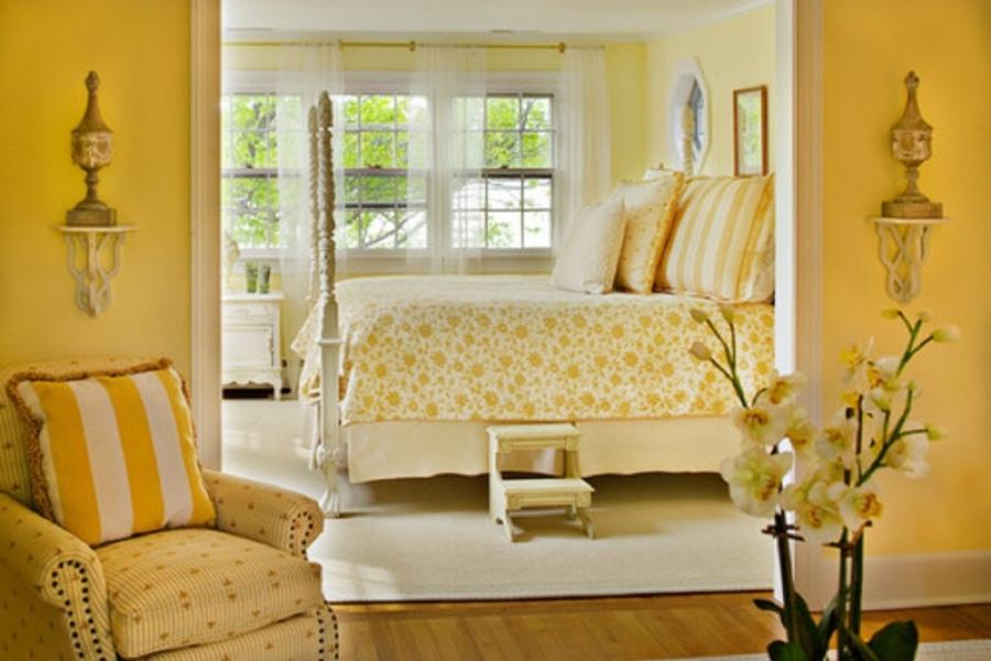 Yellow Paint Color For Small Bedroom 1024x683 Bright Paint Color...
