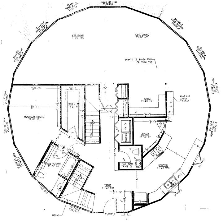Round house plans photos for Round house plans