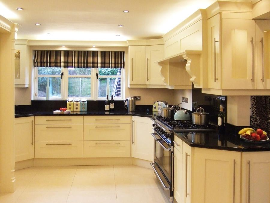 Cream colored kitchens photos for Butter cream colored kitchen cabinets