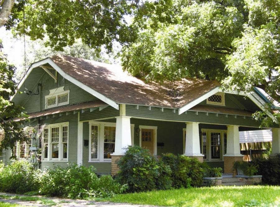 Bungalow house colors photos for Bungalow exterior paint colors