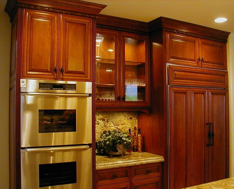 Cherry kitchen cabinets 100 order custom kitchen cabinets for Cherry wood kitchen cabinets price