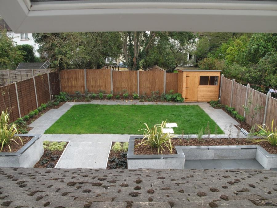 Residential garden design photos for Residential garden design