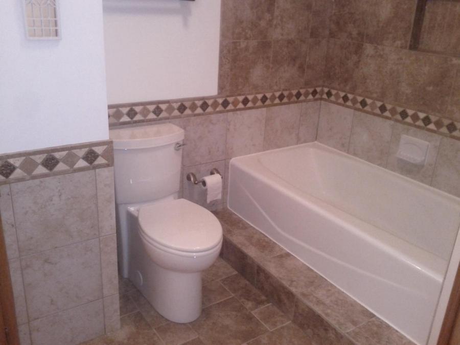 wainscot bathroom photos