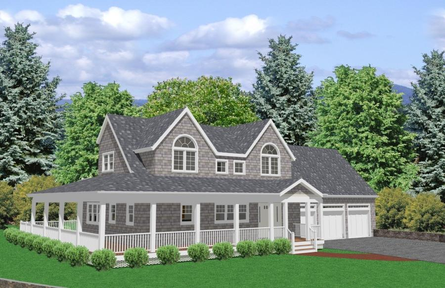 Cape cod house plans with photos for Large cape cod house plans