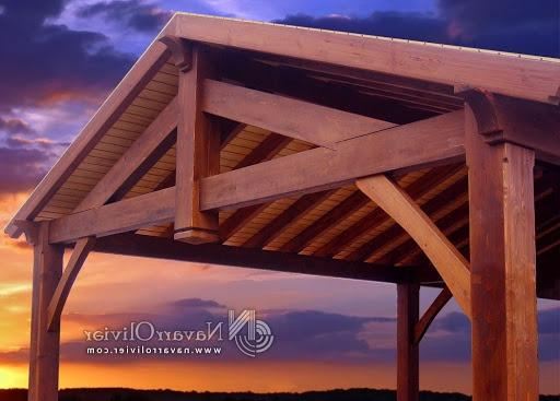 Pitched Roof Pergola Photos