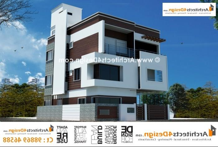 Front Elevation Bangalore : Front elevation in bangalore joy studio design