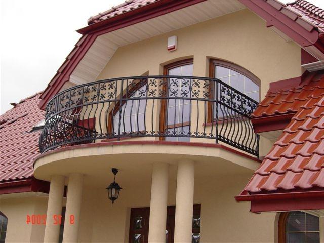 Балкон частного дома.