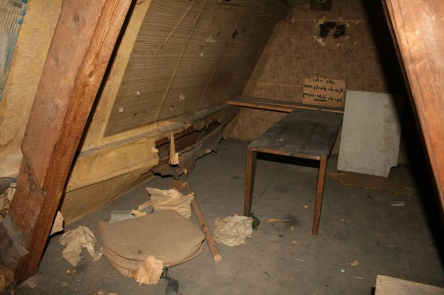 Itu a secret room from World War 2! Since this was in Norway, it...