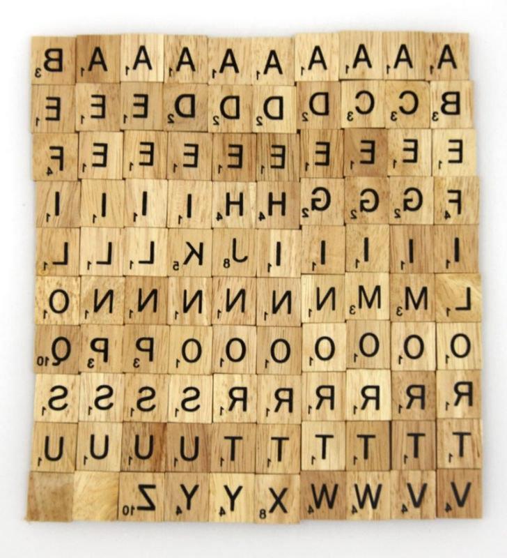 Photos On Scrabble Tiles