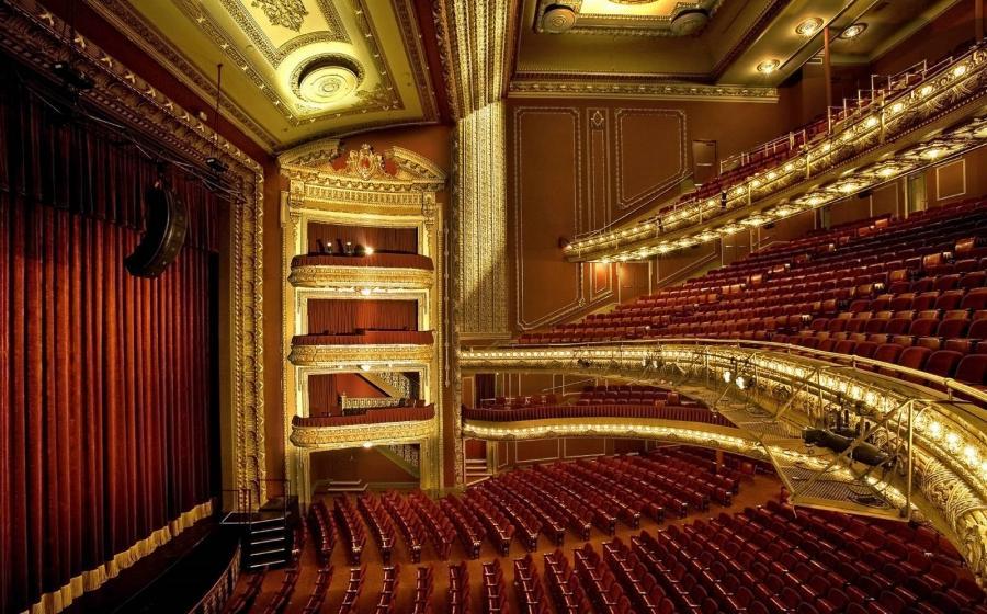 Chicago Theater Interior Photos