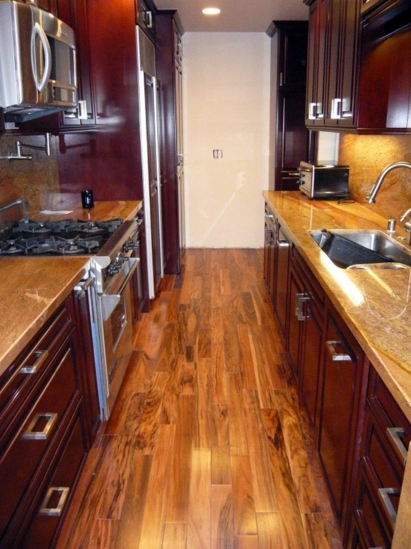 Small Galley Kitchen Design image