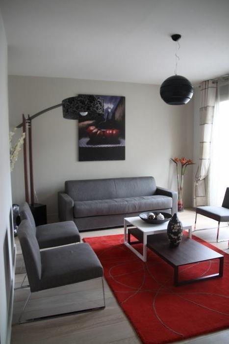 Photos decoration petit salon for Deco salon parquet