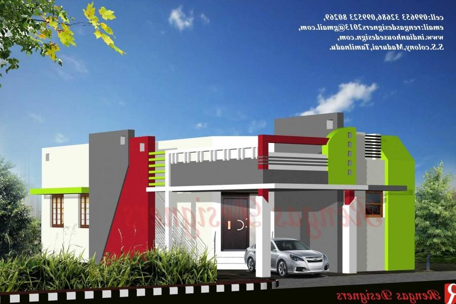 Building Front Elevation Models : Tamilnadu building elevation models joy studio design