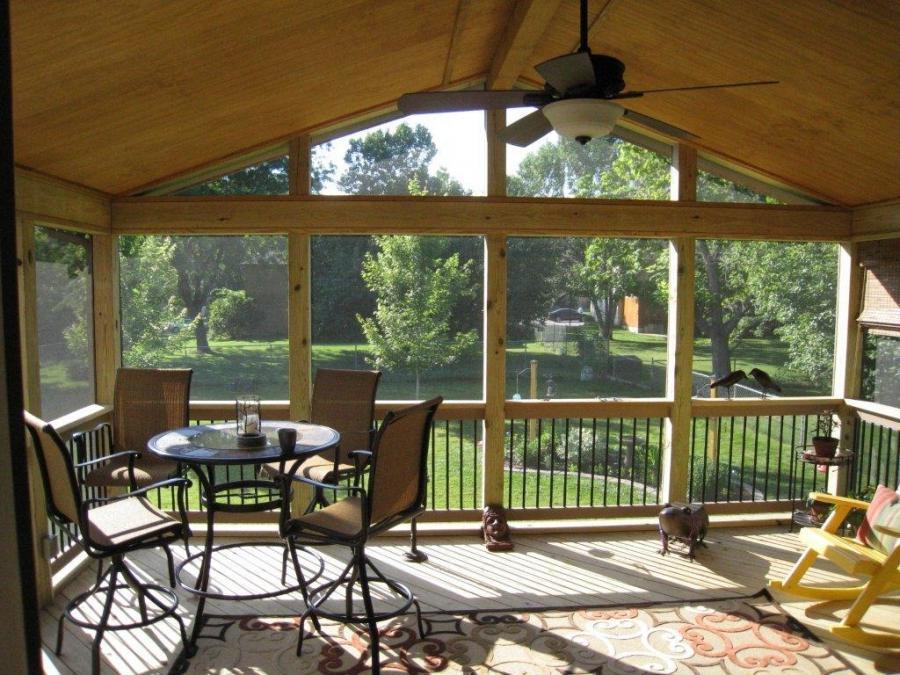 Sunroom Covered Deck Photos