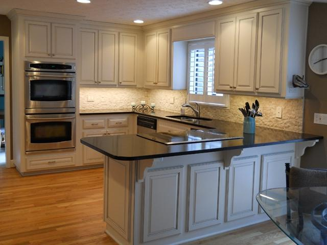 Resurfacing Kitchen Cabinets Before And After Photos