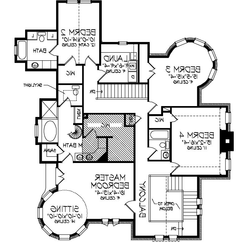 Old world house plans photos for Old world floor plans