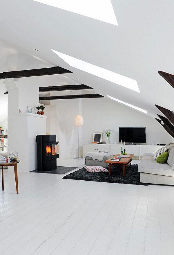 Collect this idea attic room 2 39 Attic Rooms Cleverly Making Use...