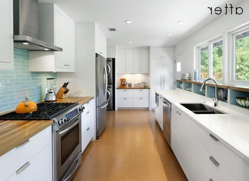 Galley Kitchens - Kitchens - Room Gallery - MyHomeIdeas.com