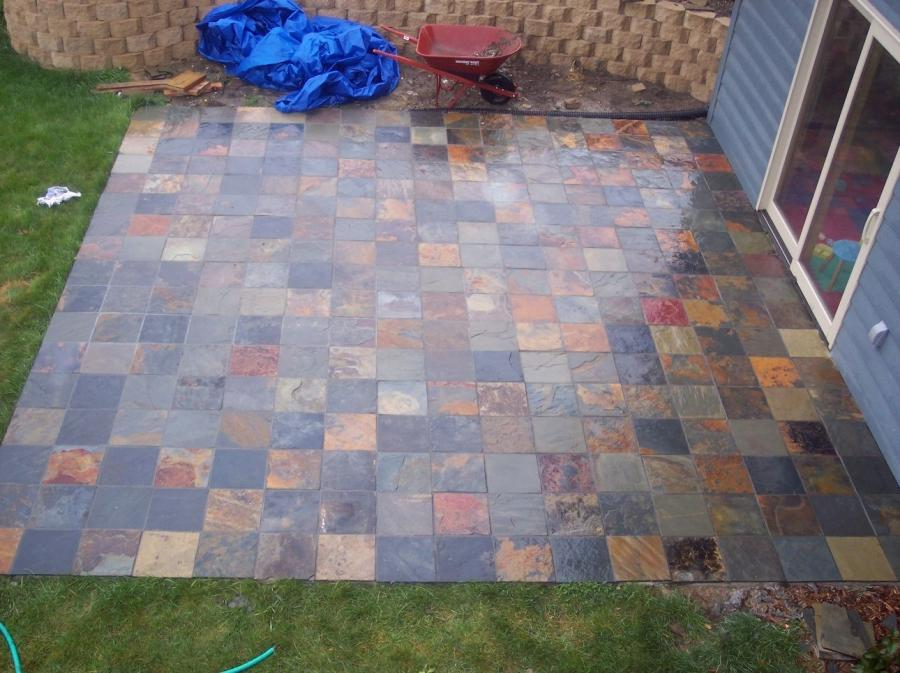 Patio tile designs photos - Basics mosaic tiles patios ...