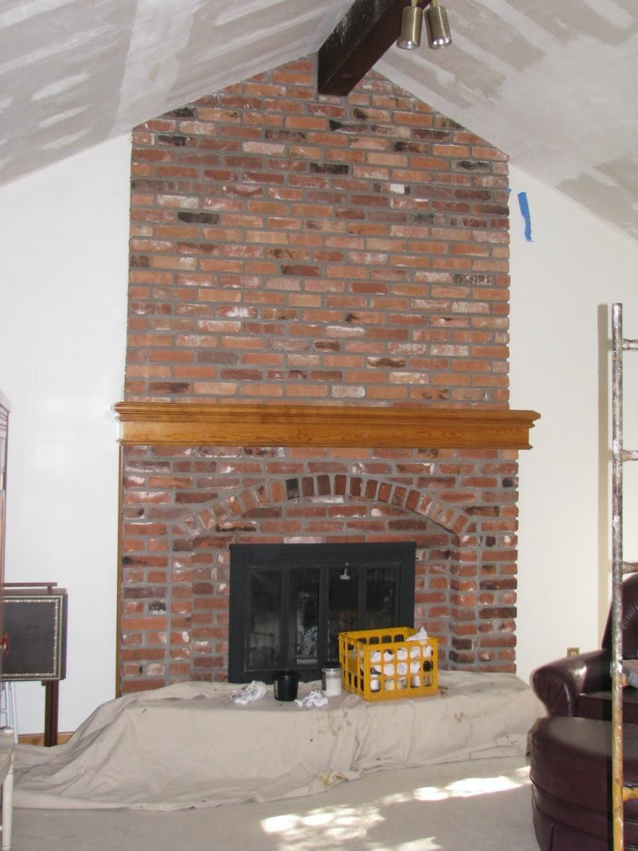 Photos Of Brick Fireplaces