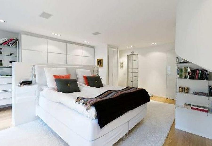 Extraordinary Simple Large Beds White Bedroom