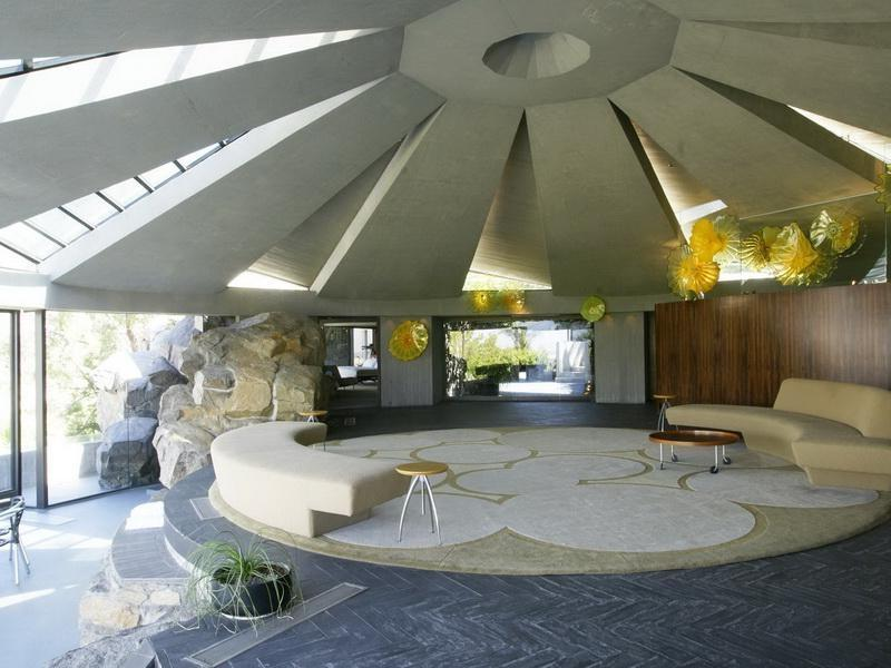Dome House Interior Photos